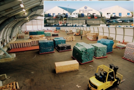 Polar Air Cargo Sort Facilities