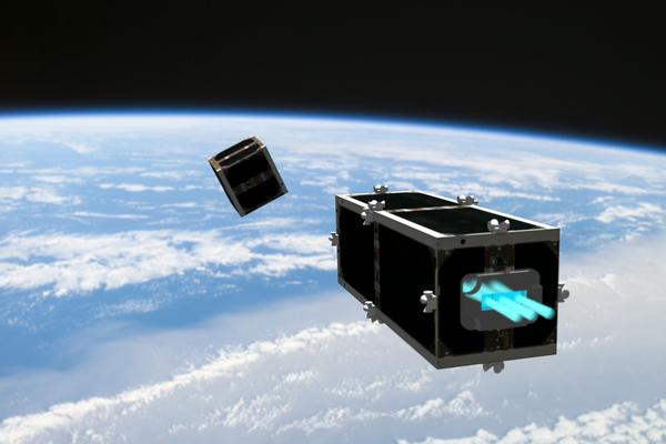 CleanSpace One satellite