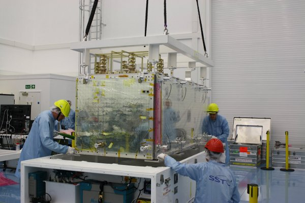 Galileo satnav payload