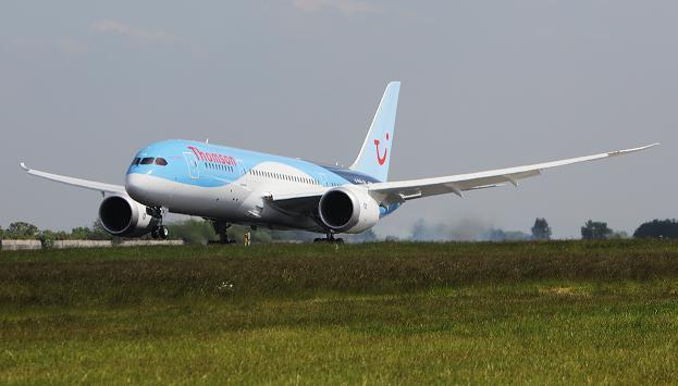787 landing