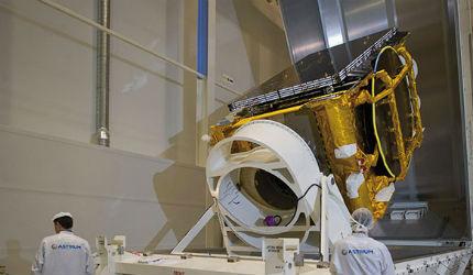ASTRA 2E Communication Satellite
