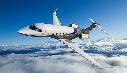 Challenger 350 super mid-sized business jet