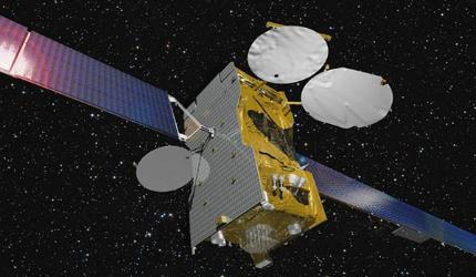 Express-AM7 telecommunication satellite