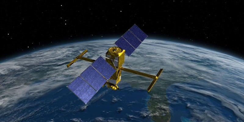 SWOT satellite  in orbit