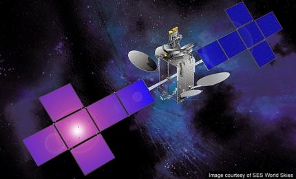 SES-4 telecommunication satellite