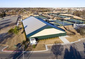 Tennis building